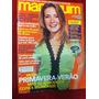 Revista Manequim Adriana Esteves C Moldes