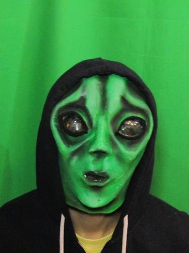 Mascara En Látex - Extraterrestre.