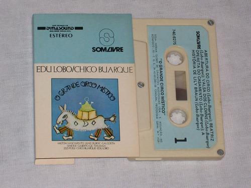 Edu Lobo / Chico Buarque - Fita Cassete K7 O Grande Circo Mí Original