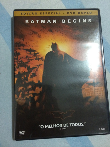 Dvd Batman Begins Original