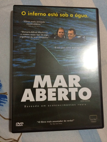 Dvd Mar Aberto Original