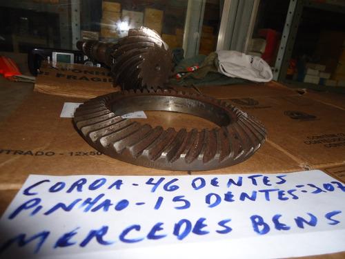 Coroa Pinhao Diferencial  Mercedes Automovel Motor V8 Etc..