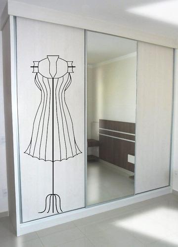 Adesivo Decorativo Manequim(57x153)cm Original