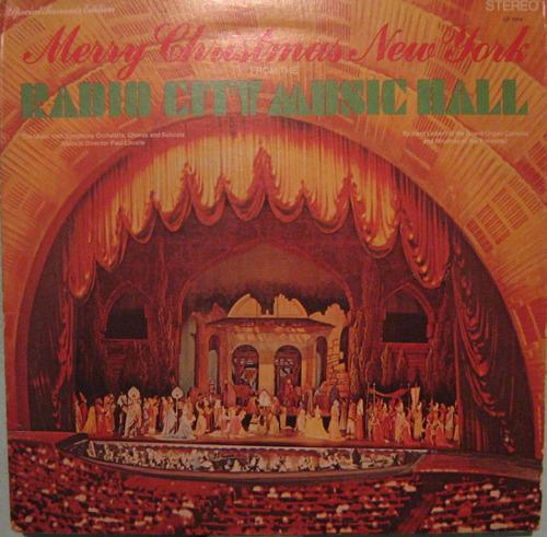 Radio City Music Hall - Merry Christmas New York - 1972  Usa Original