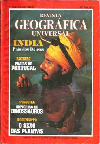 Geográfica Universal 222 * Jun/93 Original