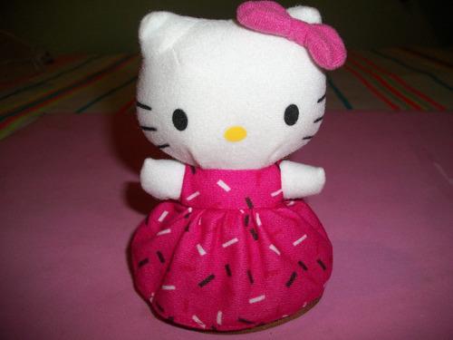 Boneca  Hello Kitty De Pelucia Da Lacta Original