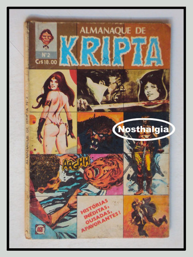 Kripta N.2 -  Almanaque -  Anos 70 -  F(270) Original