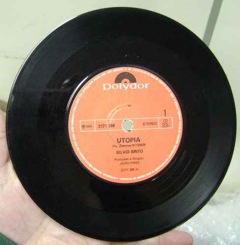 Vinil Compacto  Silvio Brito  1980   -  R1 Original