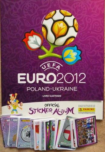 Álbum De Figurinhas - Uefa 2012 Poland-ukraine C/ 265 Fig. S