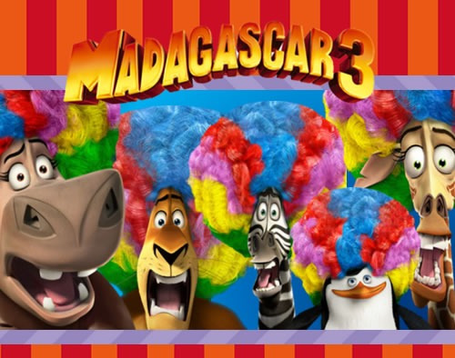 Kit Imprimible Madagascar Candy Bar Golosinas Cumples Cod01