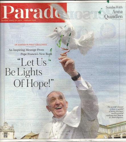Jornal Parade: Papa Francisco / Anna Quindlen Original