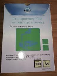 Transparencias A4 Caja De 100