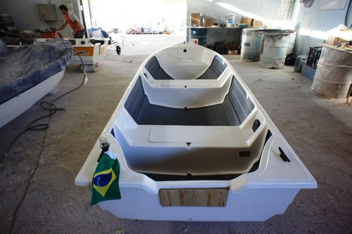Barco Bote Fibra 4.60 Borda Alta 40 Anos Artsol Fabrica