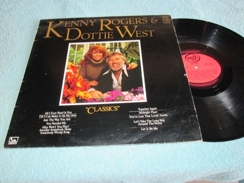Lp - Kenny Rogers E Dottie West - Classics - Importado Original