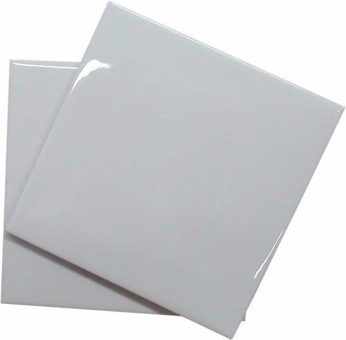 Azulejos Brancos Resinados Para Sublimação 15x15cm - Tecken