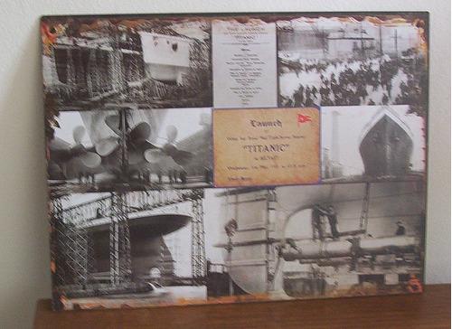 Chapa Retro Titanic