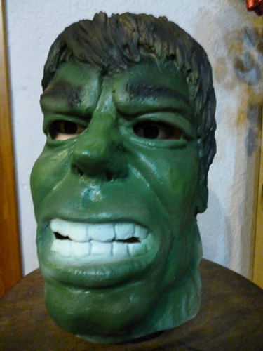 Mascara En Latex. Hulk.