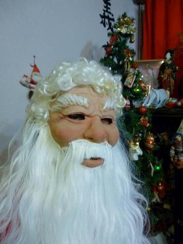 Mascara En Latex. Papa Noel.