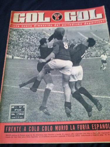 Gol Y Gol N° 18 1 De Agosto De 1962