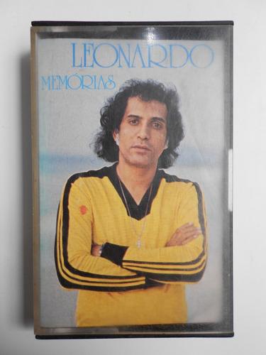 Fita Cassete Leonardo Memórias Original