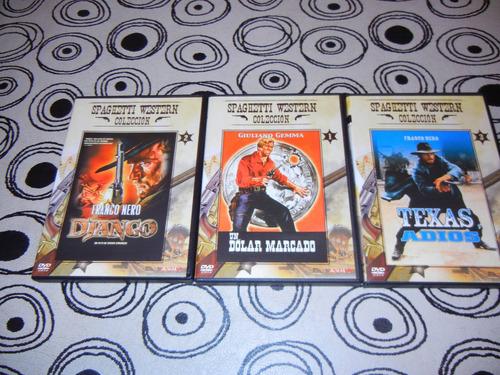 Dvd Originales Peliculas Spaguetti Western Colleccion