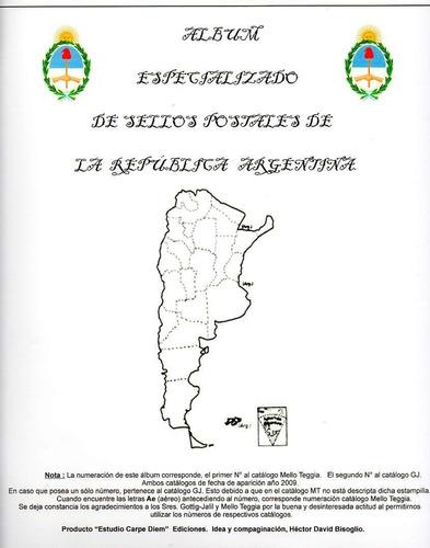 Album Especializado De Argentina Carpe Diem 1856/1937
