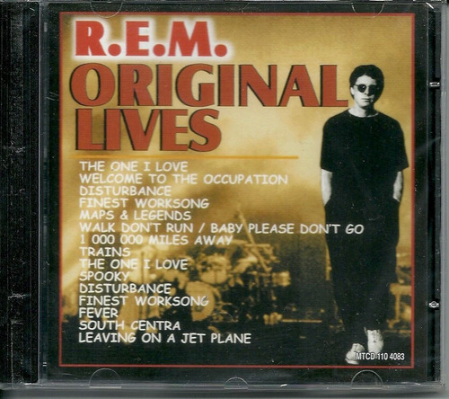 Cd R.e.m. s Lives - Novo, Orig. Lacrado Original