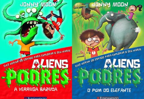 Aliens Podres Vol. 1 E 2 -   8 A 11 Anos Original