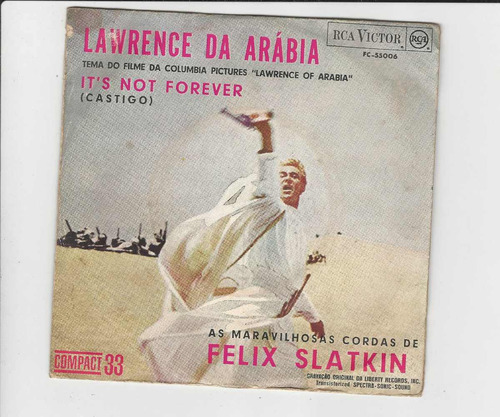 Felix Slatkin - Lawrence Of Arabia - Compacto Ep 26 Original