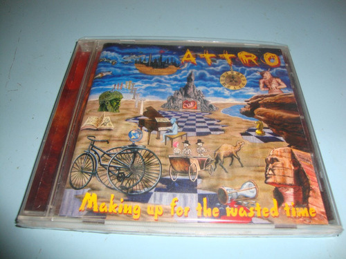 Cd Da Banda-attro-making Up For The Wasted Time-2003. Original