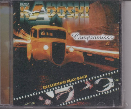 Kadoshi - Compromisso - Raridade - Cd & Playback Gospel Original