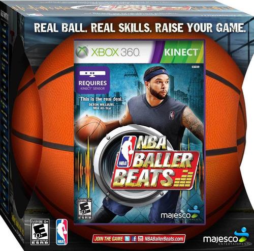 Nba Ballers Beat Incluye Pelota Basket Oficial - Xbox 360