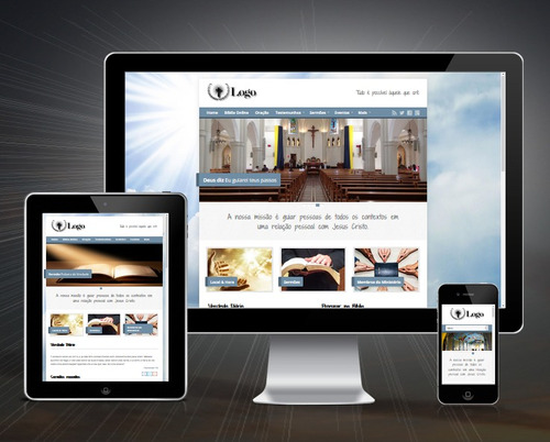 Site Para Igrejas Bíblia Online Testemunhos Pedido De Oração