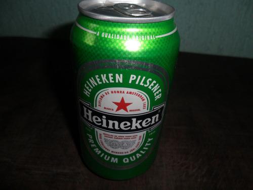 Antiga Lata De Cerveja Heineken Cheia Original