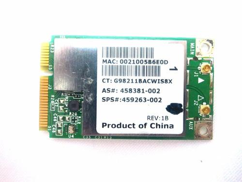 Pci Wireless Notebook Hp Compaq Cq40 6530b Bcm94312mcg Original