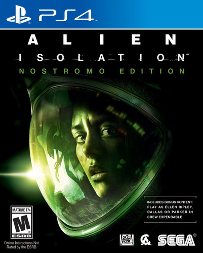 Alien Isolation - Playstation 4 Ps4