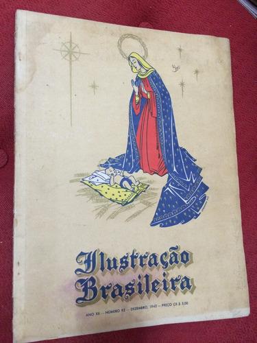 Revista Ilustração Brasileira Número 92 Dezembro De 1942 Original