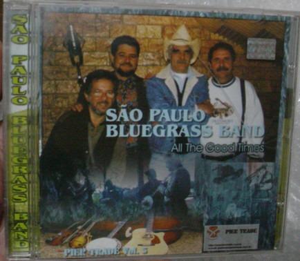 Cd  Sao Paulo  Bluegrass  Band  -  B277 Original