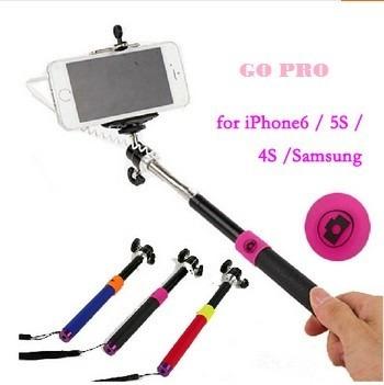 Monope Selfie Para iPhone 6, 5s, 4s E Sansung. 1,2m Original