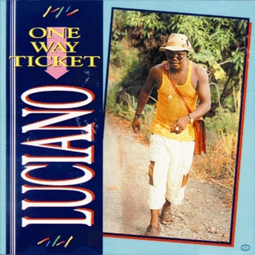 Luciano,cd One Way Ticket,novo Importado Original