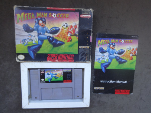 Megaman Mega Man Soccer Americano Completo Original