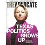 The Advocate: Annise Parker / Cecilia Perez / Andrew Sulliva