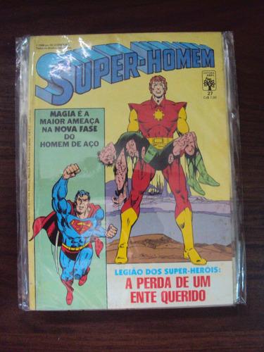 Super-homem # 27 - 1ª Série - Legião Dos Super-heróis Original