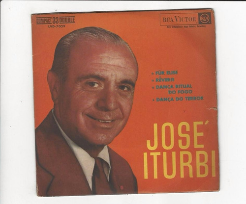 José Iturbi - Fur Elise - Compacto - Ep 92 Original
