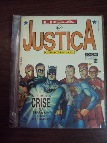 Invictus # 15 - Liga Da Justiça - Nova Sampa Original