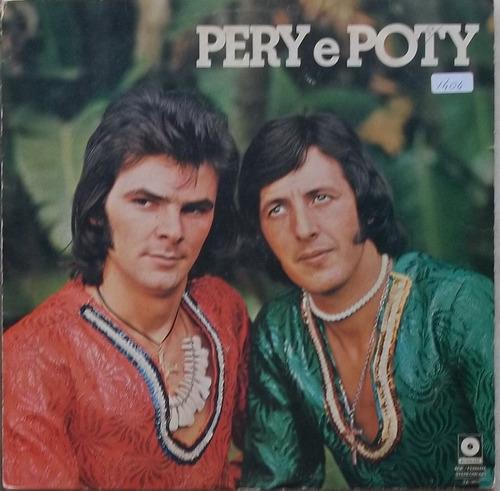 Lp Pery E Poty (1977) Autografado Original