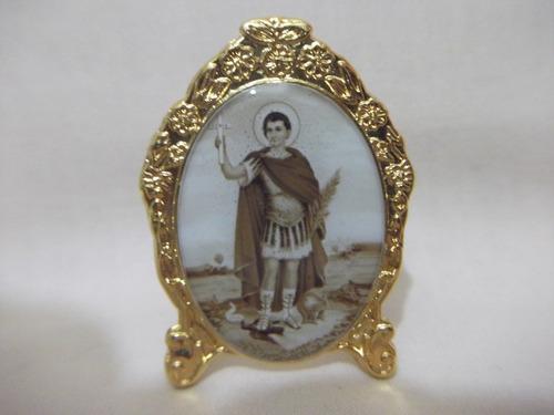 B. Antigo- Medalha Sacra De Mesa Santo Expedito  Original