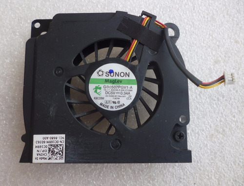 Cooler Notebook Dell 1545 Series  Pn: Ksb06205ha Original