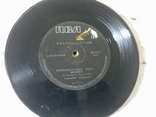 Vinil Compacto Laurent Voulzy / 1977 / Rock Collection Original