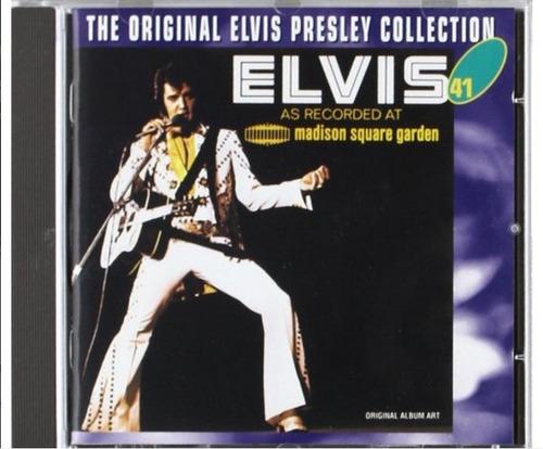 Elvis Presley -madison Square Garden - E.p Collection Nº 41 Original